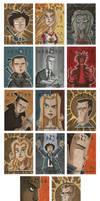 Heroes Sketch Cards 1 by OtisFrampton