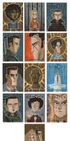 Heroes Sketch Cards 4 by OtisFrampton