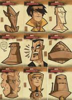 Marvel Masterpieces II 5 by OtisFrampton