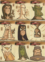 Marvel Masterpieces II 10 by OtisFrampton