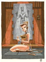 Slave Leia by OtisFrampton