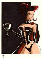The Black Queen by OtisFrampton