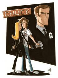 Chuck by OtisFrampton