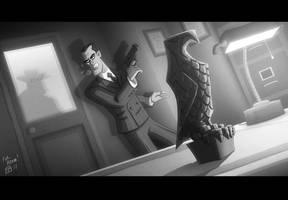 Maltese Falconer by OtisFrampton