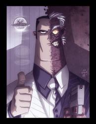 Two-Face by OtisFrampton