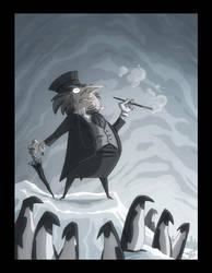 The Penguin by OtisFrampton