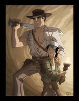 Shorty and Doctor Jones by OtisFrampton