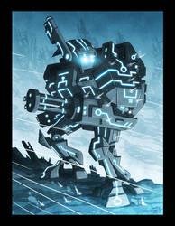 TRON-XV89-Crisis-Battlesuit by OtisFrampton