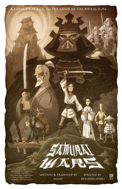 Samurai Wars by OtisFrampton