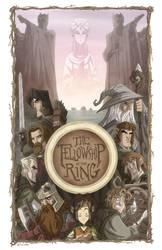 The Fellowship of the Ring by OtisFrampton
