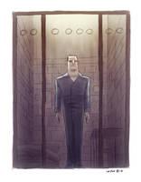 Hannibal Lecter by OtisFrampton