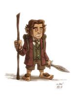 Bilbo Baggins by OtisFrampton