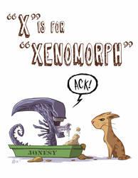 X Is For Xenomorph by OtisFrampton