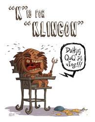 K Is For Klingon by OtisFrampton