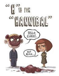 H Is For Hannibal by OtisFrampton