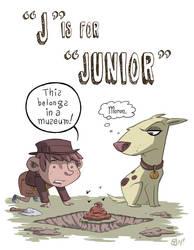 J Is For Junior by OtisFrampton