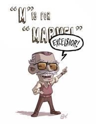 M Is For Marvel by OtisFrampton