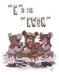 E Is For Ewok by OtisFrampton