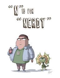 N Is For Nerdy by OtisFrampton