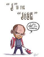 J Is For Josh by OtisFrampton