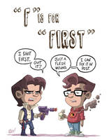 F Is For First by OtisFrampton