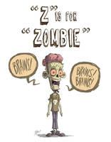 Z Is For Zombie by OtisFrampton
