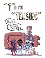 T Is For Teasing by OtisFrampton