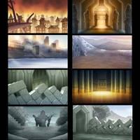 The Hobbit 3 HISHE Backgrounds by OtisFrampton