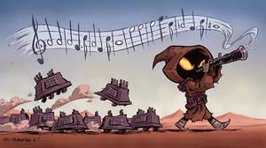 The Pied Piper of Tatooine by OtisFrampton