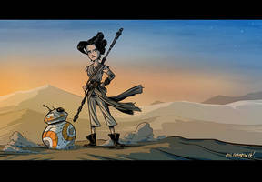Rey by OtisFrampton
