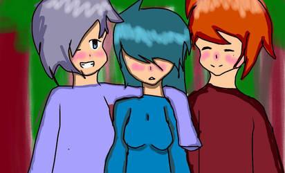 A Group Of Friends by bijuuscrub3001