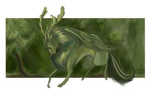 Fauna Dragon by AmberStoneArt