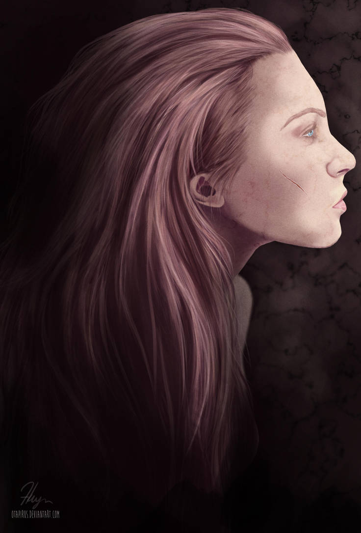 the girl. by oTapirus