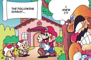 Mario vs Wario by ItEqualsLove