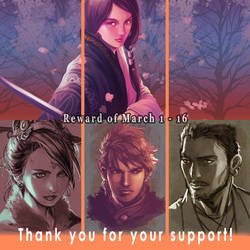 Thank you to become my patron by yutaka11111