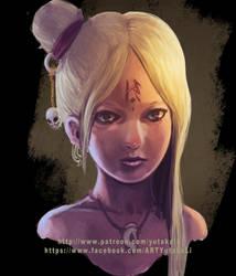 Character #11 ~  Rie by yutaka11111
