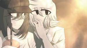 Aku and Katsuo - He scares me sometimes... by Akumarou