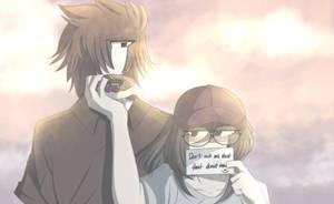 DONUT fake it - Ken and Aku by Akumarou