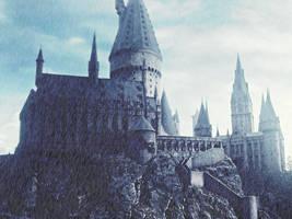 Hogwarts Raining by JaasielVilla