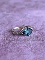 Kite Ring: Angle by TraceyWilderJewelry