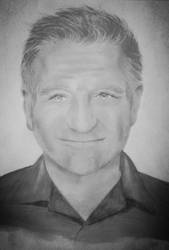 Robin Williams  by Crymsie