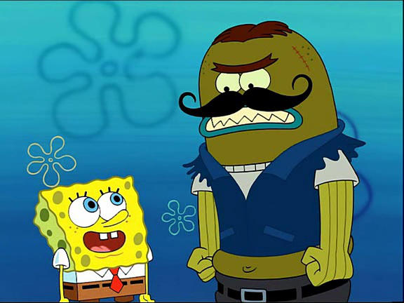 Spongebob Meet Bendy Deviantart: SpongeBob Meets The Strangler (SB 1001 Animations) By
