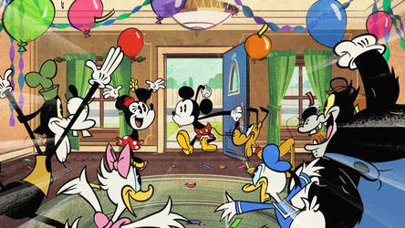 Surprise- Mickey Mouse 2013 (1001 Animations) by SofiaBlythe2014