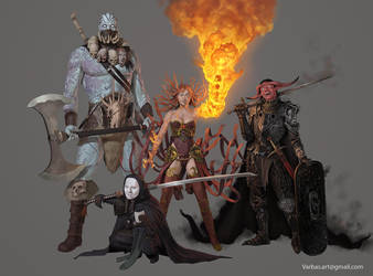 villains by Varbas