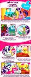 MLP magazine - 'After rain comes sunshine' by Dori-to