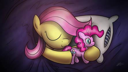 Sweet dreams, Fluttershy by Dori-to