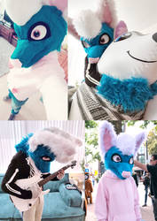 My first fursuit! by Dori-to