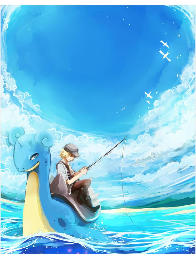 Surf! - Pokemon by tanaw