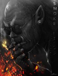 Smoke it Orc by ARTCADEV