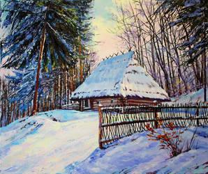 Bright winter by Gudzart